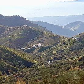 Distant view on La Zapatera