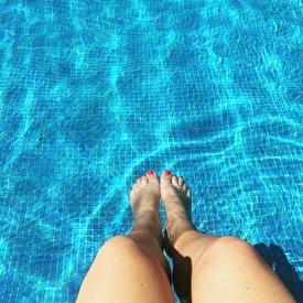 Enjoy our pool