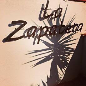 La Zapatera at our entrance