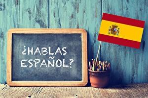 Een paar woorden Spaans